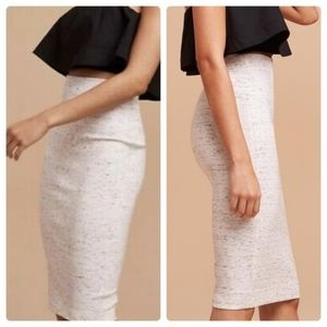 EUC Wilfred Lis Grey Pencil Skirt Size Large